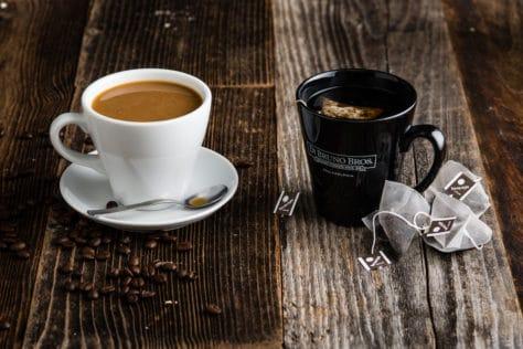 Tea or coffee benefits