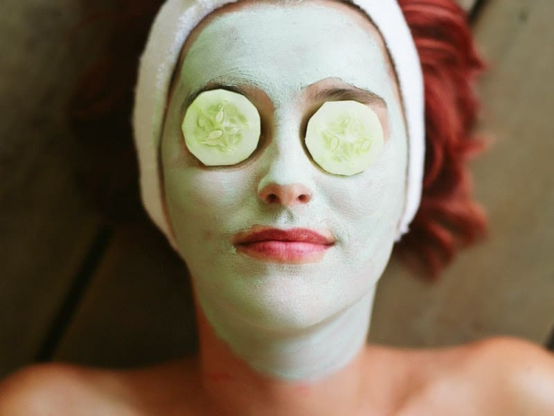 natural diy face masks that are so pure you could eat them organic fit