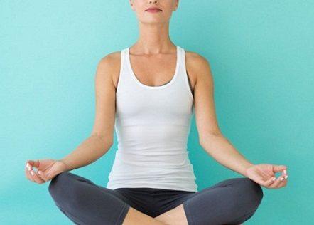 Yoga routine